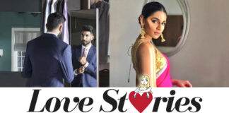 How did the love story of TV presenter Sanjana Ganesan and Indian fast bowler Jasprit Bumrah begin