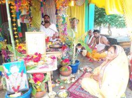बस्ती: भक्त प्रेम में भगवान कृष्ण ने तोड़ी अपनी प्रतिज्ञा - कथा व्यास पं चन्द्रभान मिश्र