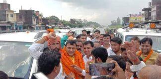 सुकरौली: भाजपा के नवनियुक्त कुशीनगर के जिला प्रभारी रमेश सिह का हुआ जोरदार स्वागत